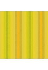Alison Glass Kaleidoscope Stripes and Plaids, Stripes in Sunshine, Fabric Half-Yards