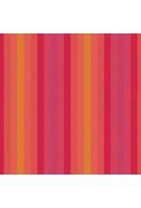 Alison Glass Kaleidoscope Stripes and Plaids, Stripes in Sunrise, Fabric Half-Yards