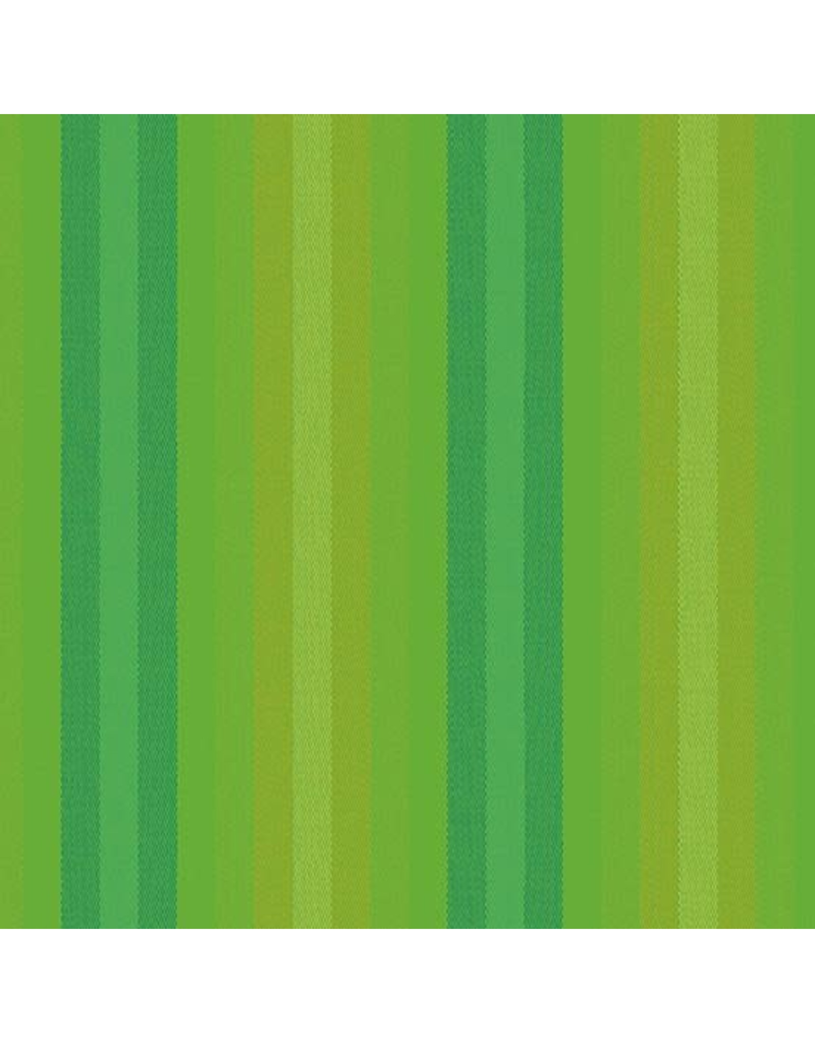Alison Glass Kaleidoscope Stripes and Plaids, Stripes in Lichen, Fabric Half-Yards
