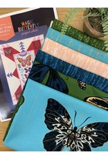 """Sarah Watts Magic Butterfly Quilt Kit - Fabric to make the 50"""" x 70.5"""" quilt top as pictured + FREE Pattern"""