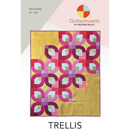 Quiltachusetts Trellis Quilt Pattern