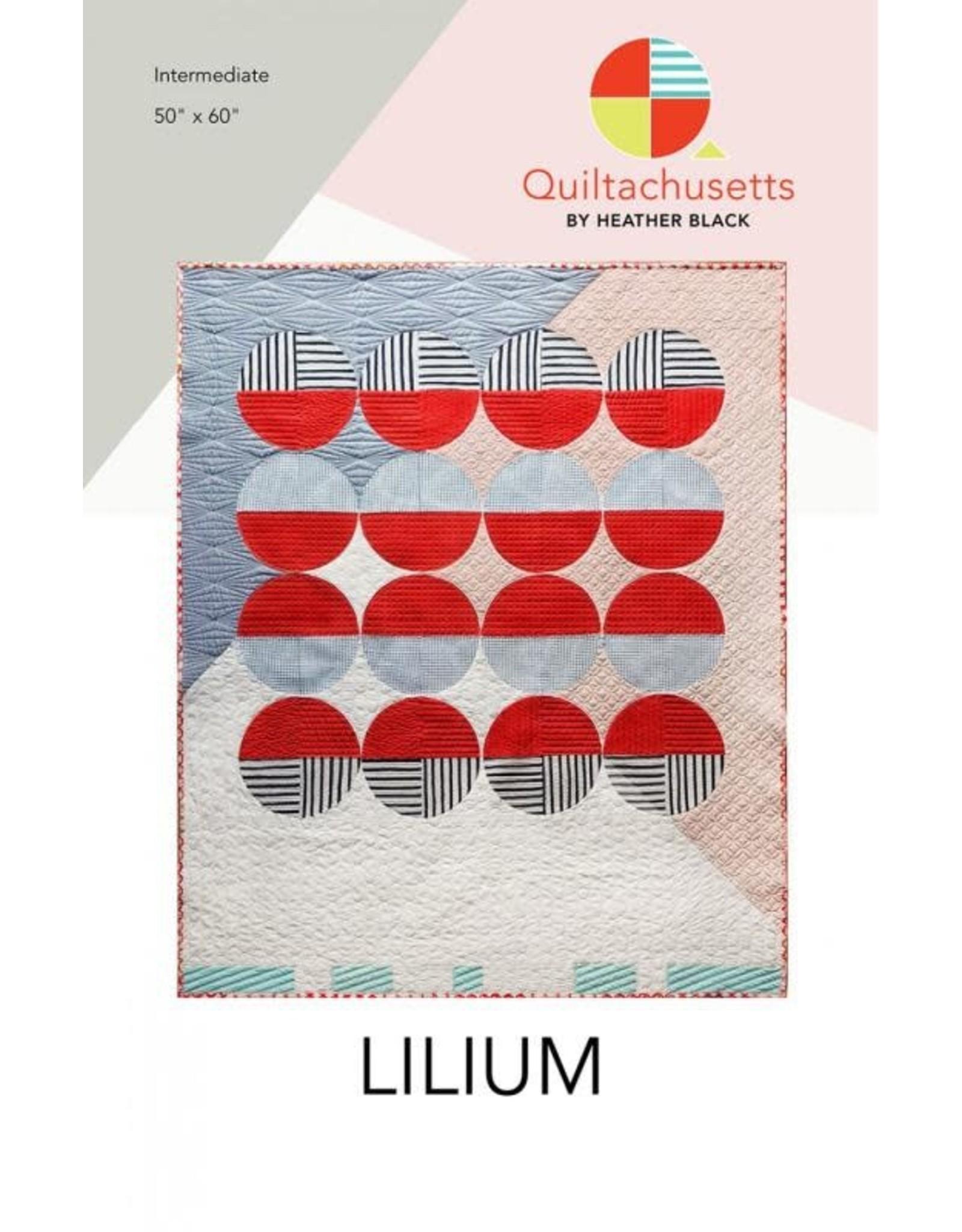 Quiltachusetts Lilium Quilt Pattern