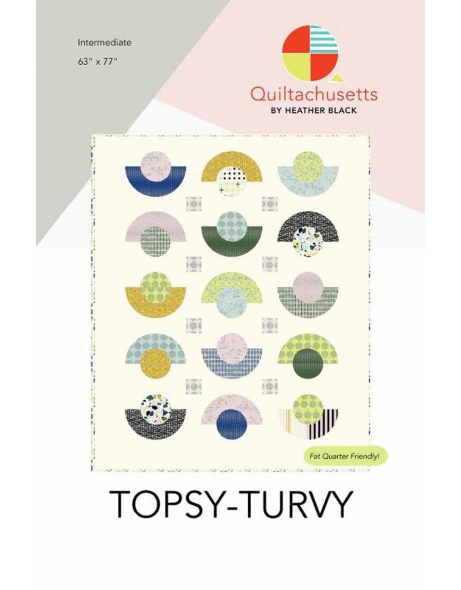 Quiltachusetts Topsy-Turvy Quilt Pattern