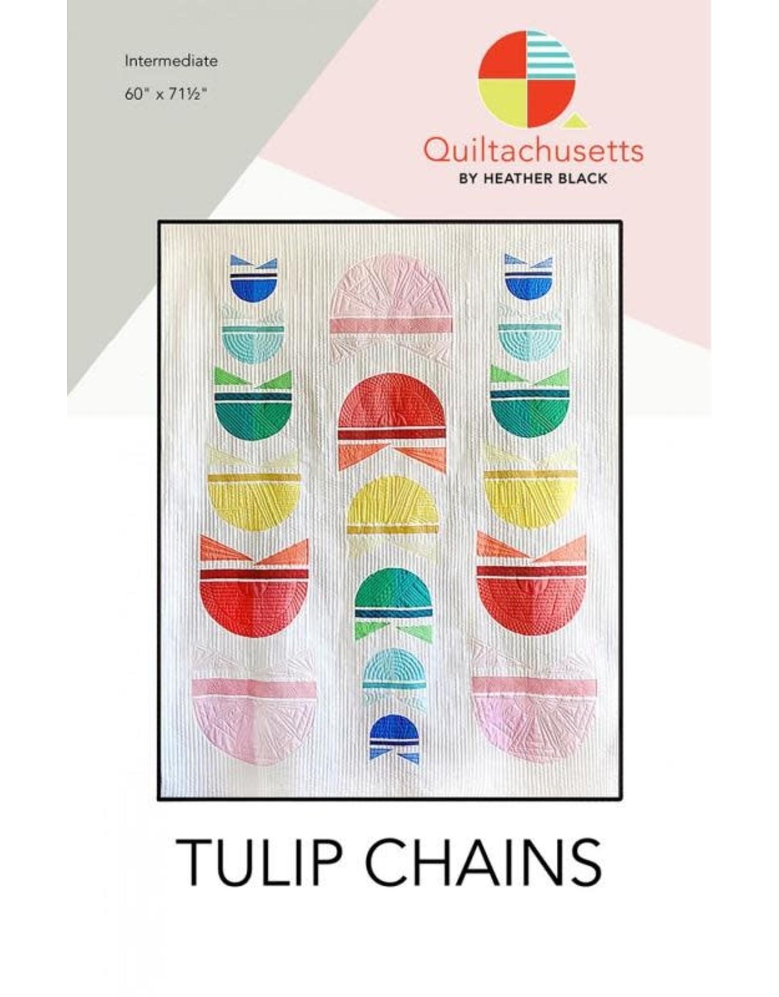 Quiltachusetts Tulip Chains Quilt Pattern