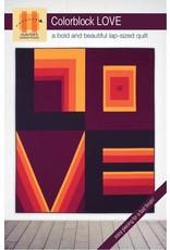 Hunter's Design Studio Colorblock LOVE Quilt Pattern