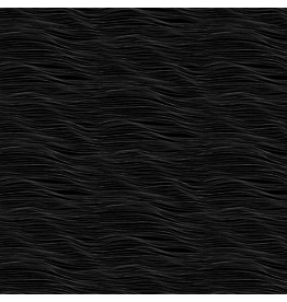 Figo Elements, Water in Black, Fabric Half-Yards 92008-99