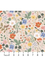 Rifle Paper Co. Strawberry Fields, Floral in Blush, Fabric Half-Yards RP400-BL3