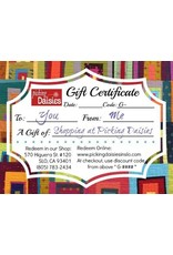 PD Gift Certificate - $50