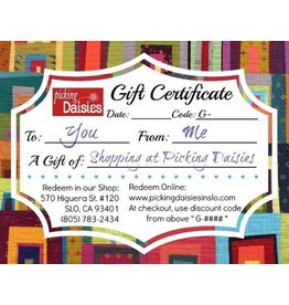 PD Gift Certificate - $100