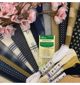 Picking Daisies Sashiko Mending Kit