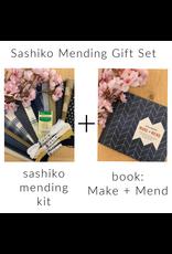 Picking Daisies Sashiko Make+Mend Gift Set