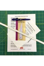 Picking Daisies Dinner Napkin Making Fabric + Tool Kit Gift Set