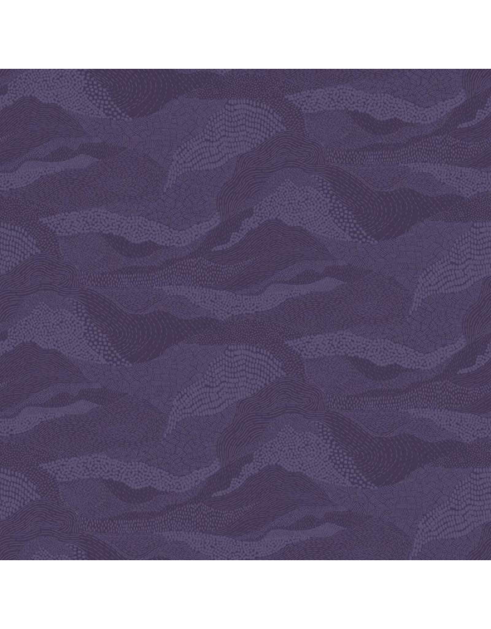 Figo Elements, Earth in Purple, Fabric Half-Yards 92007-87