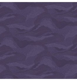 Figo Elements, Earth in Purple, Fabric Half-Yards 92007-87