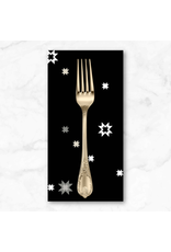 PD's Libs Elliott Collection Stealth, North Star in Moonless, Dinner Napkin