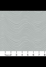 Libs Elliott Stealth, Waves in Smoke, Fabric Half-Yards A-9662-C