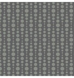 Libs Elliott Stealth, Bubble in Charcoal, Fabric Half-Yards A-9661-C