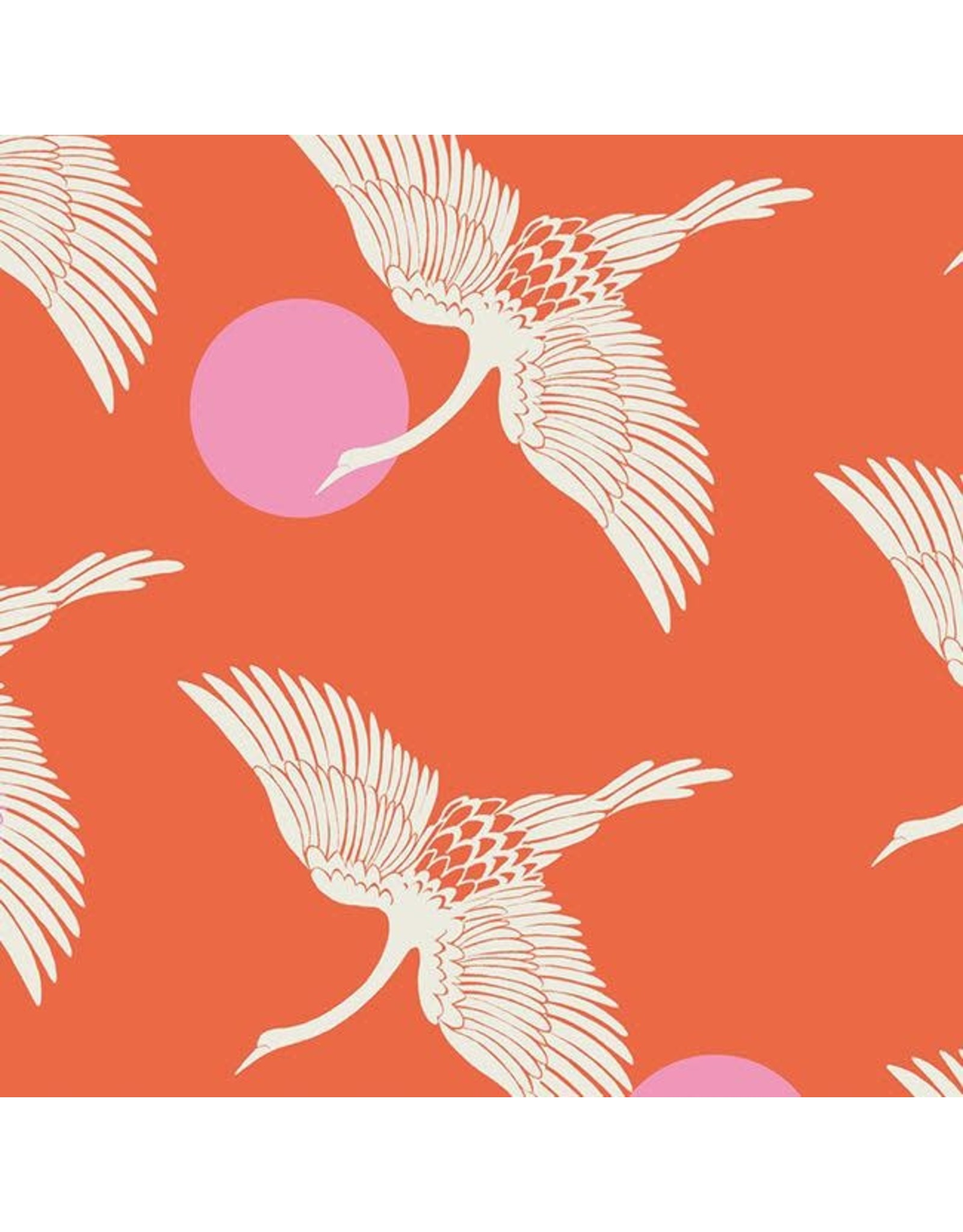Sarah Watts Ruby Star Society, Florida, Egrets in Fire, Fabric Half-Yards RS2023 11