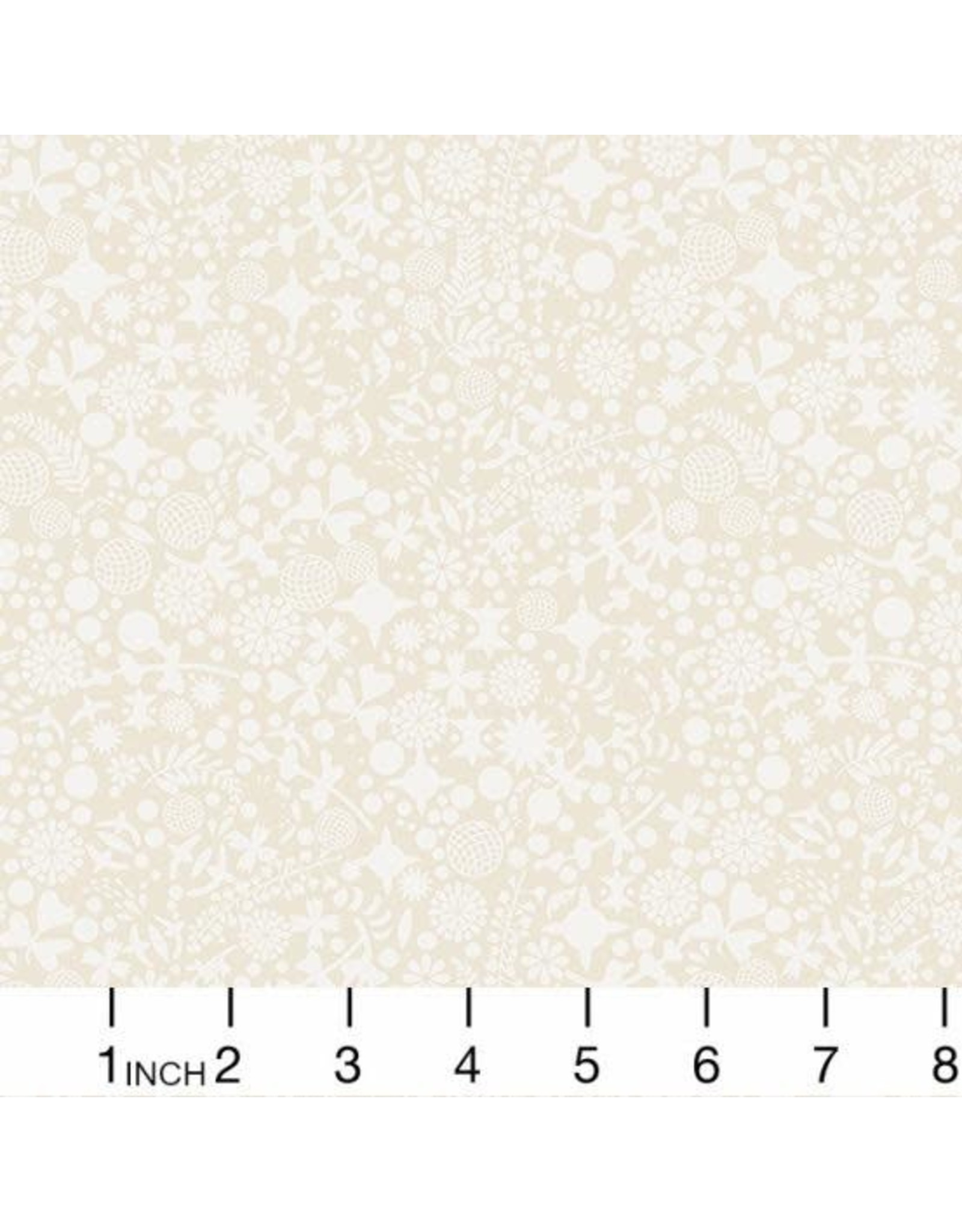 Alison Glass Art Theory, Endpaper in Day, Fabric Half-Yards A-9706L