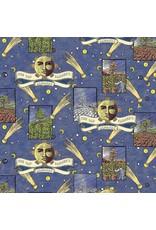 Sykel Fabrics Old Farmers Almanac, Celestial Patch, Fabric Half-Yards 10331