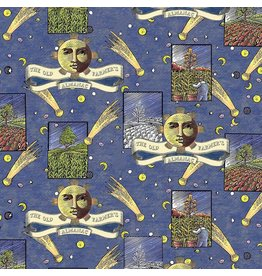Sykel Fabrics Old Farmers Almanac, Celestial Patch, Fabric Half-Yards 10331