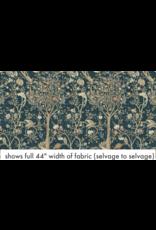 William Morris & Co. Orkney, Melsetter in Indigo, Fabric Half-Yards PWWM041