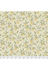 William Morris & Co. Orkney, Lemon Tree in Linen, Fabric Half-Yards PWWM047