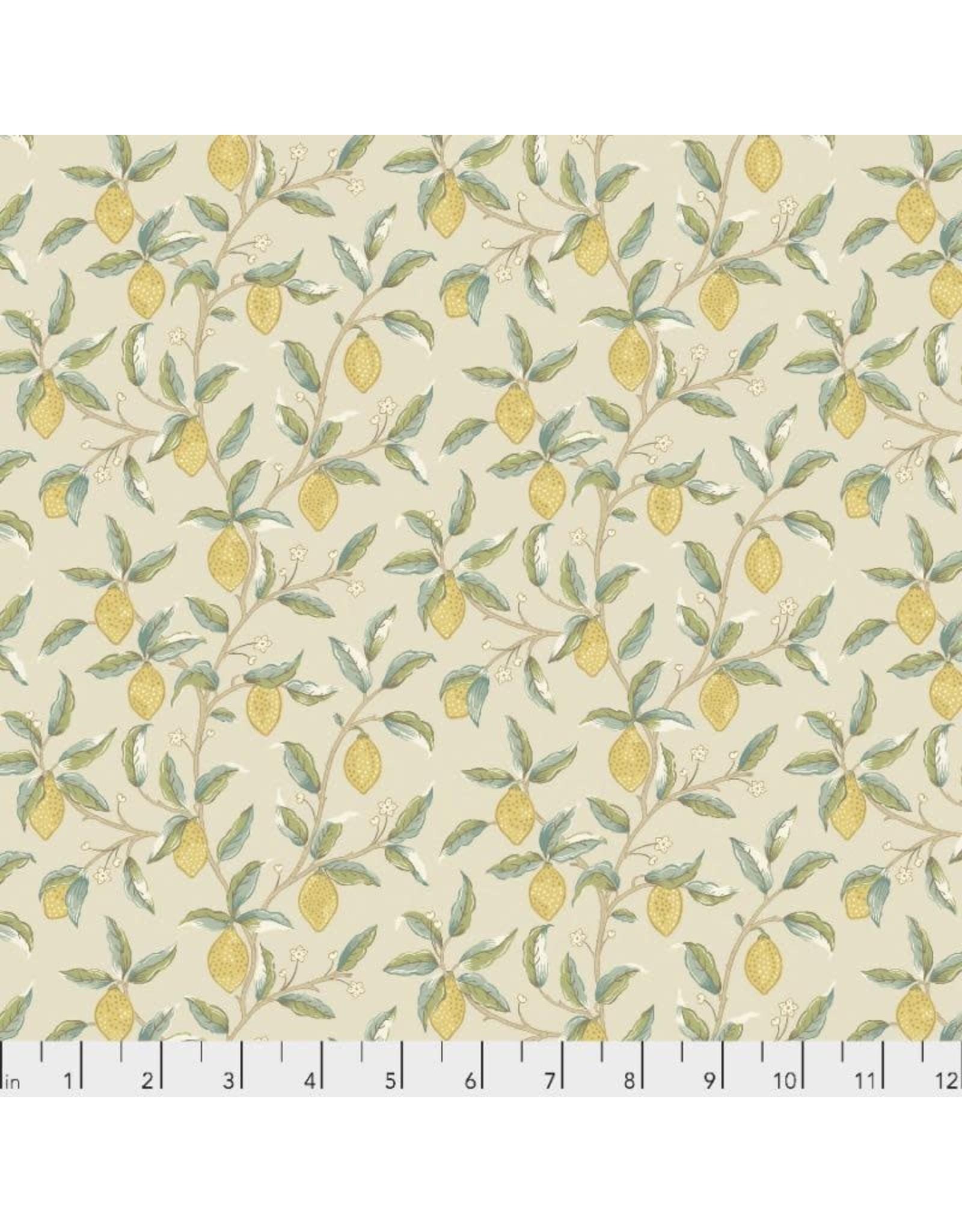 PD's William Morris Collection Orkney, Lemon Tree in Linen, Dinner Napkin