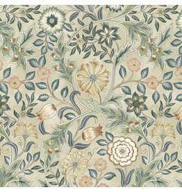 William Morris & Co. Orkney, Wilhemina in Linen, Fabric Half-Yards PWWM049