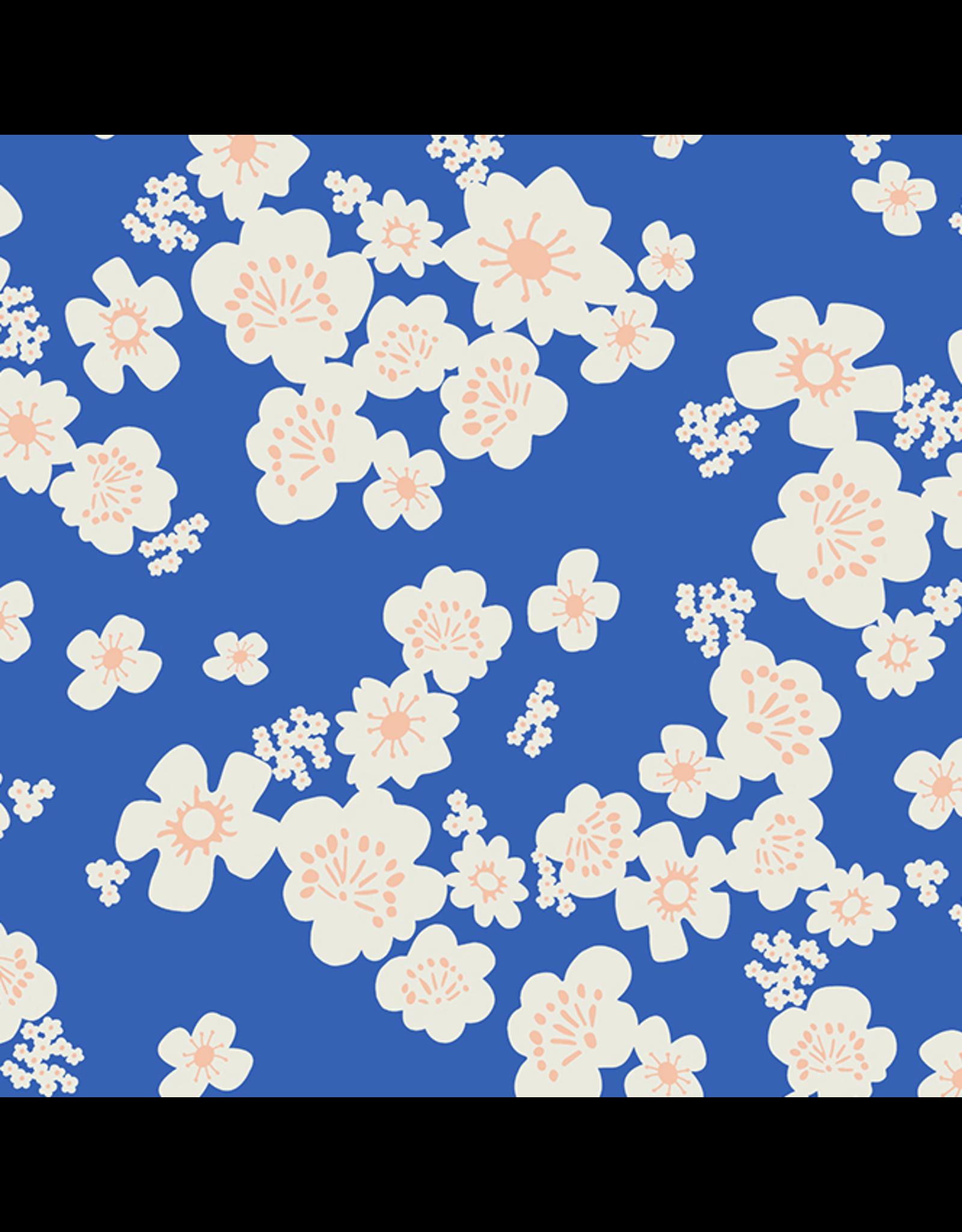 Ruby Star Society for Moda Whatnot, Hana Wideback in Blue Ribbon, Fabric Half-Yards RS11171 13