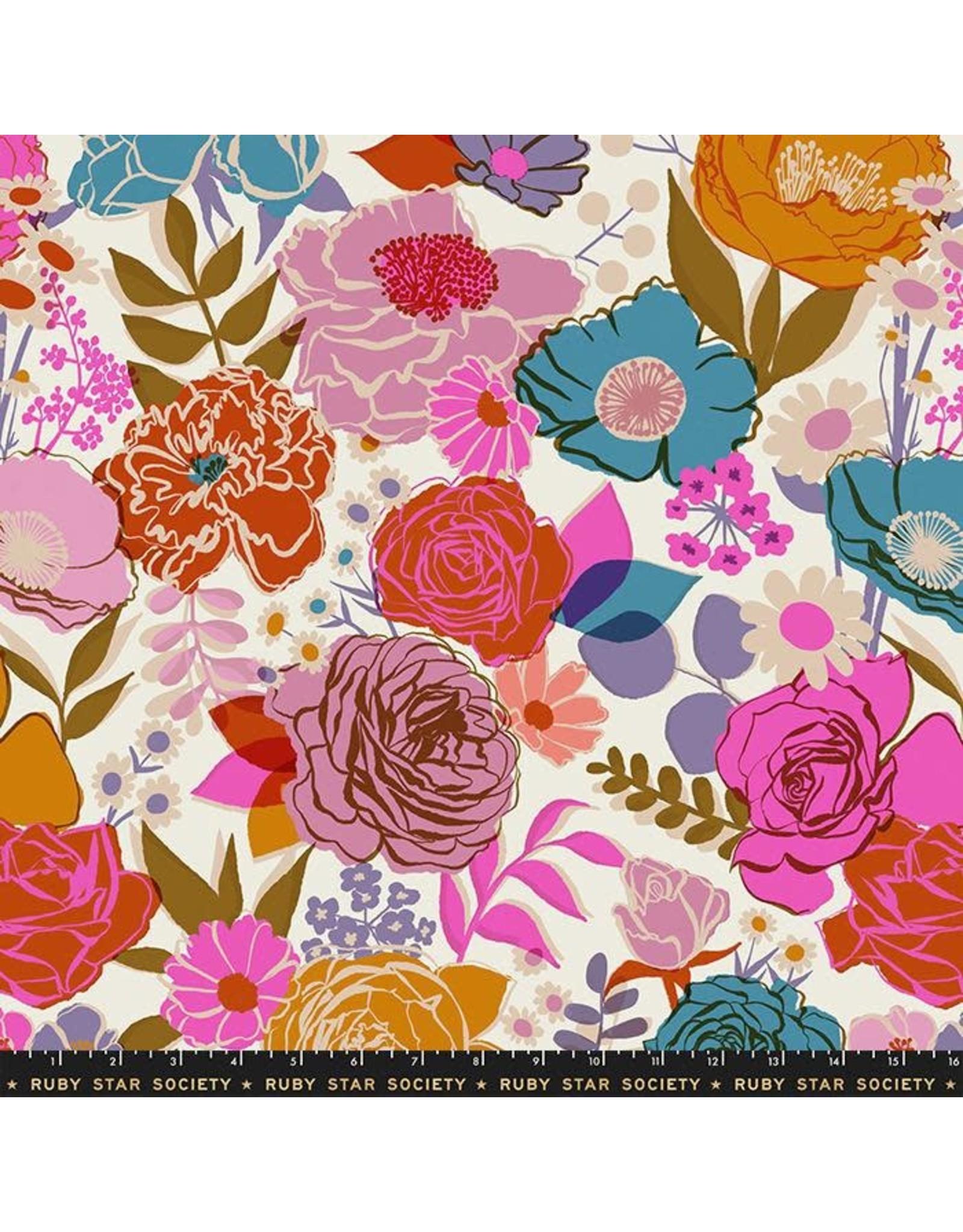 Ruby Star Society for Moda Ruby Star Society, Rise, Wideback in Shell, Fabric Half-Yards RS111165 11