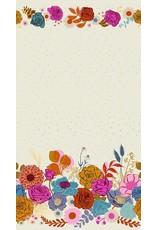 Melody Miller Ruby Star Society, Rise, Shine Double Border in Shell with Metallic, Fabric Half-Yards RS0014 11M