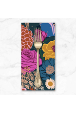 PD's Ruby Star Society Collection Ruby Star Society, Rise, Shine Double Border in Peacock, Set of 2 Dinner Napkins