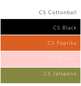 Picking Daisies Century Solids Bundle for Libs Elliott's 2021 Sew Squad Sampler Block of the Month - Orange Colorway