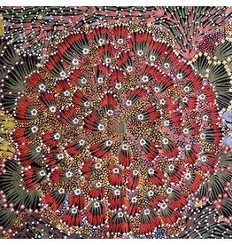 M&S Textiles Australia Aboriginal, Bush Banana, Fabric Half-Yards BB