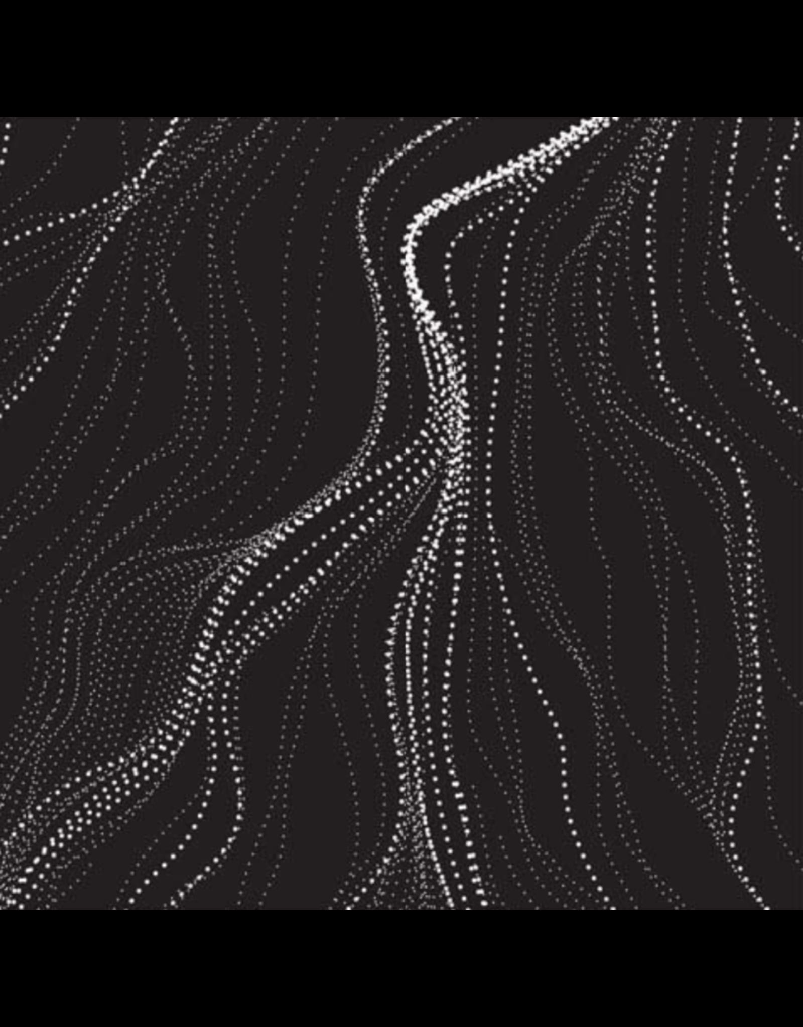 M&S Textiles Australia Aboriginal, Sandhill in Charcoal, Fabric Half-Yards SANC