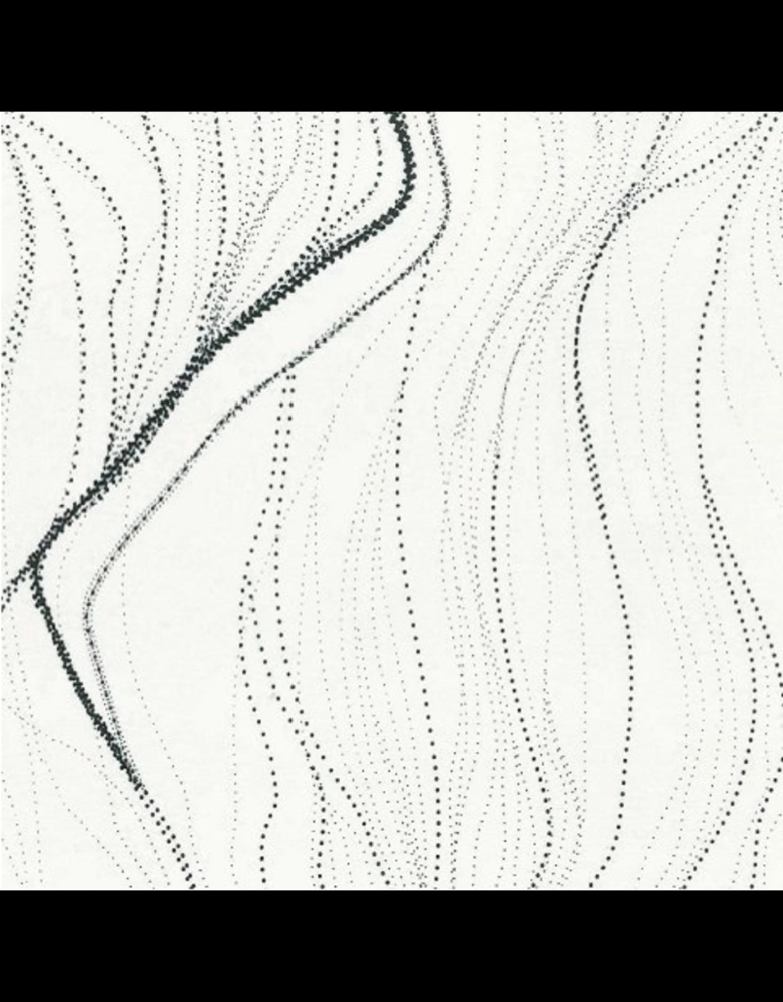 M&S Textiles Australia Aboriginal, Sandhill in White, Fabric Half-Yards SANW