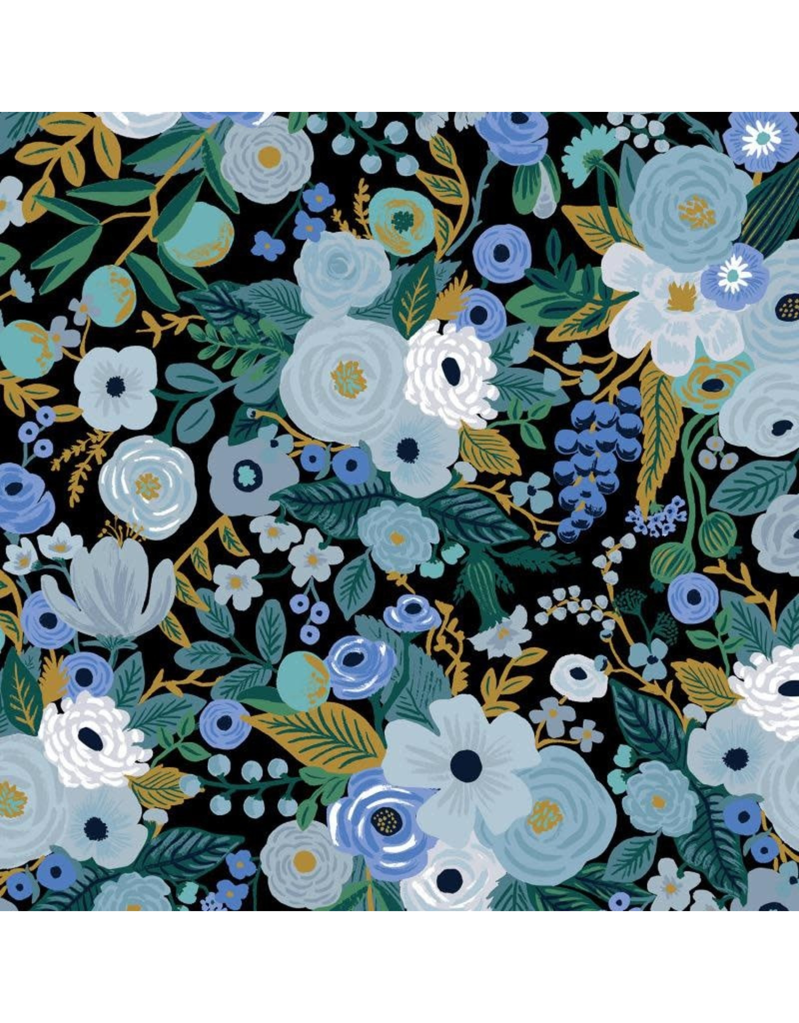 Rifle Paper Co. Garden Party, Garden Party in Blue, Fabric Half-Yards RP100-BL5
