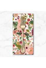 PD's Rifle Paper Co Collection Garden Party, Garden Party in Rose, Dinner Napkin