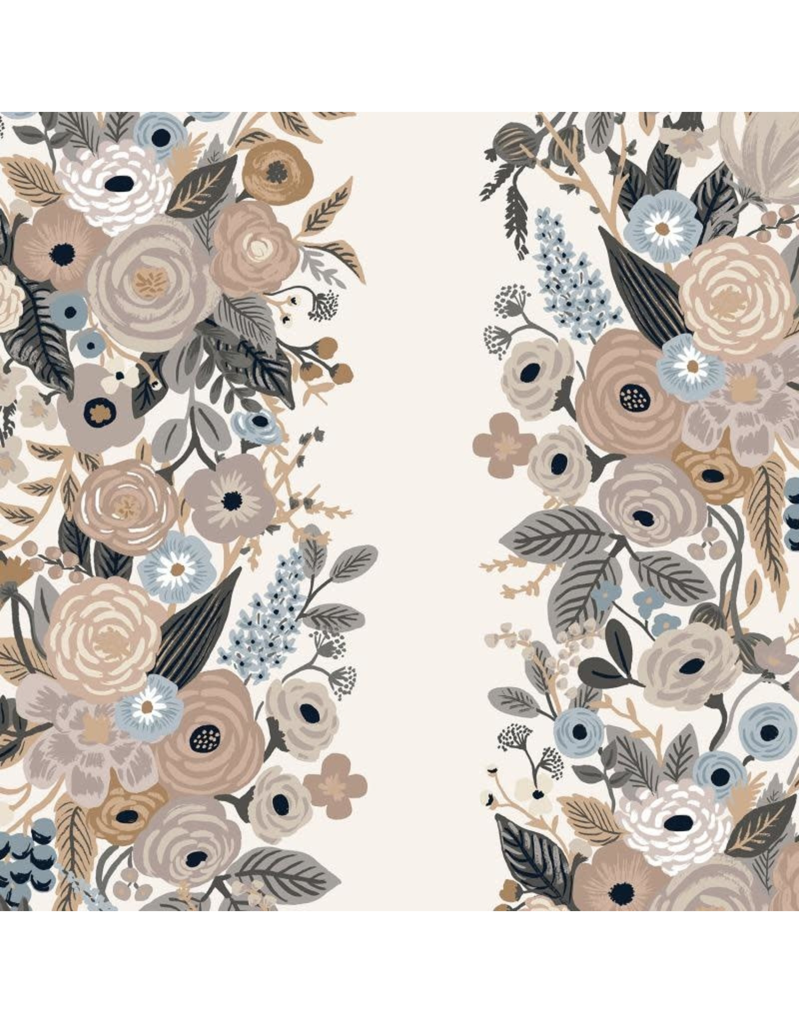 Rifle Paper Co. Garden Party, Garden Party Vines in Linen, Fabric Half-Yards RP101-LM5