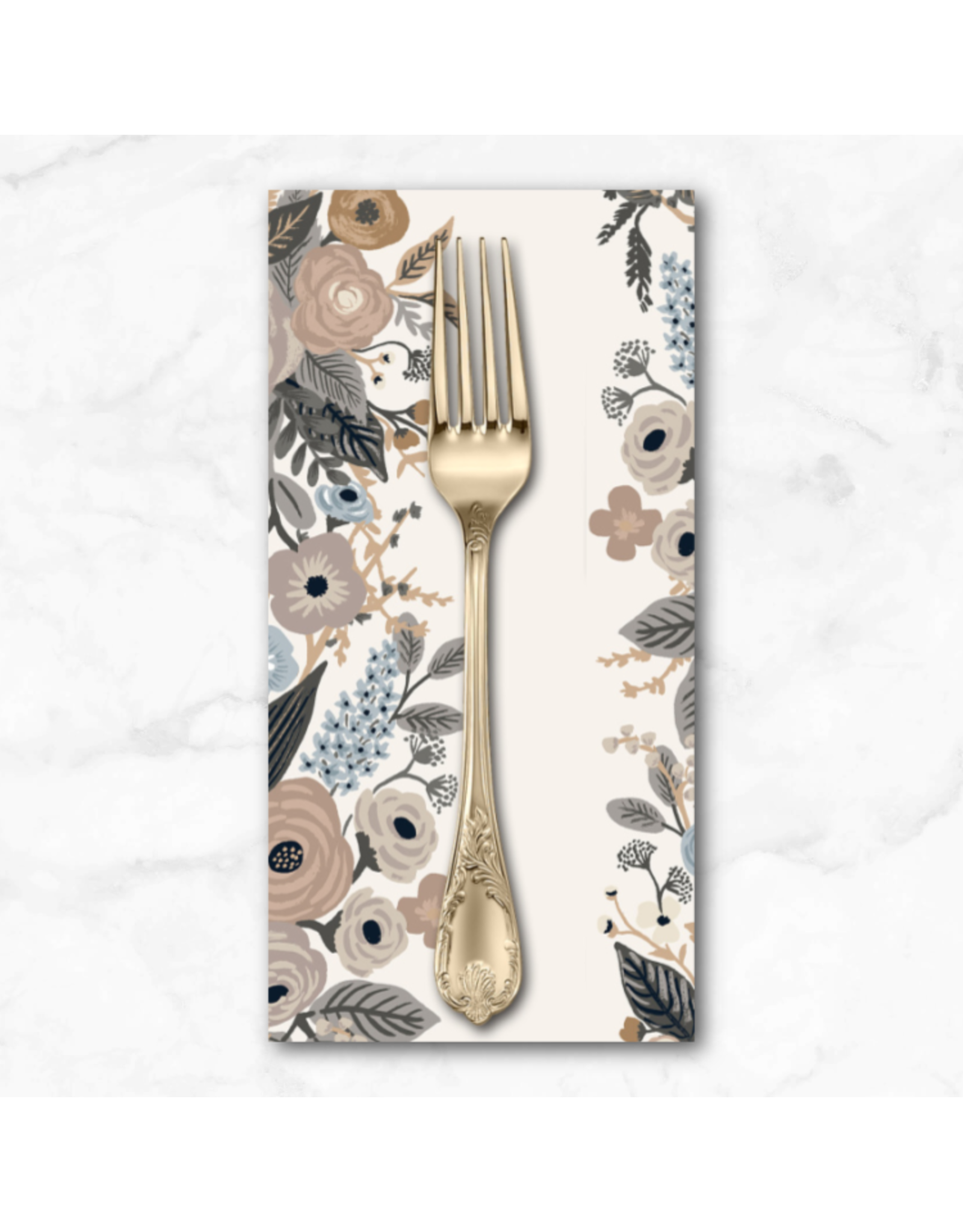 PD's Rifle Paper Co Collection Garden Party, Garden Party Vines in Linen, Dinner Napkin