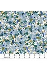 Rifle Paper Co. Garden Party, Petite Garden Party in Blue, Fabric Half-Yards RP104-BL5
