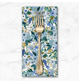 PD's Rifle Paper Co Collection Garden Party, Petite Garden Party Blue, Dinner Napkin