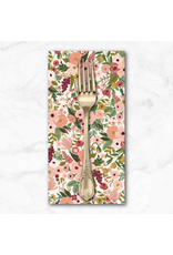 PD's Rifle Paper Co Collection Garden Party, Petite Garden Party Rose, Dinner Napkin