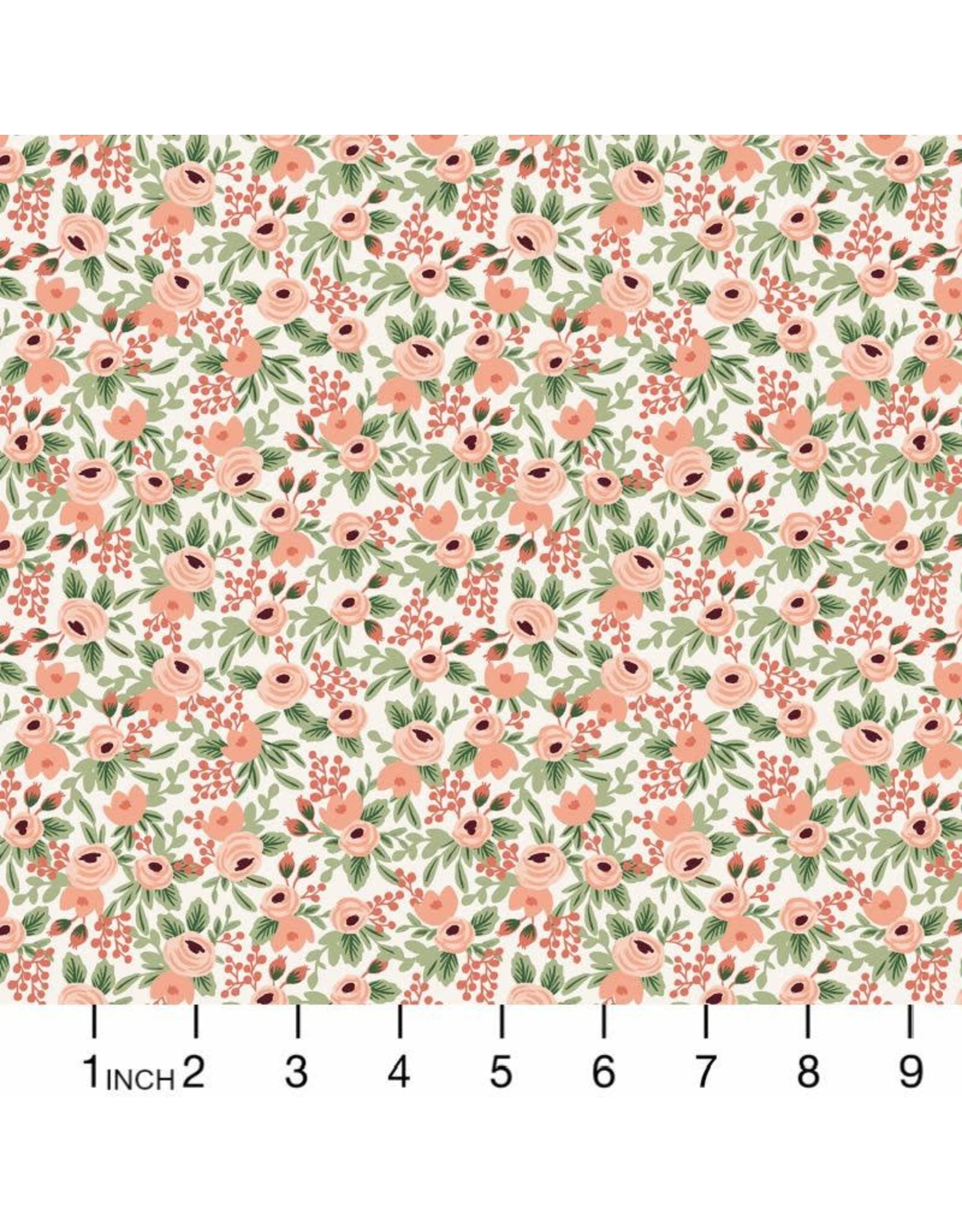 Rifle Paper Co. Garden Party, Rosa in Rose, Fabric Half-Yards RP305-RO6