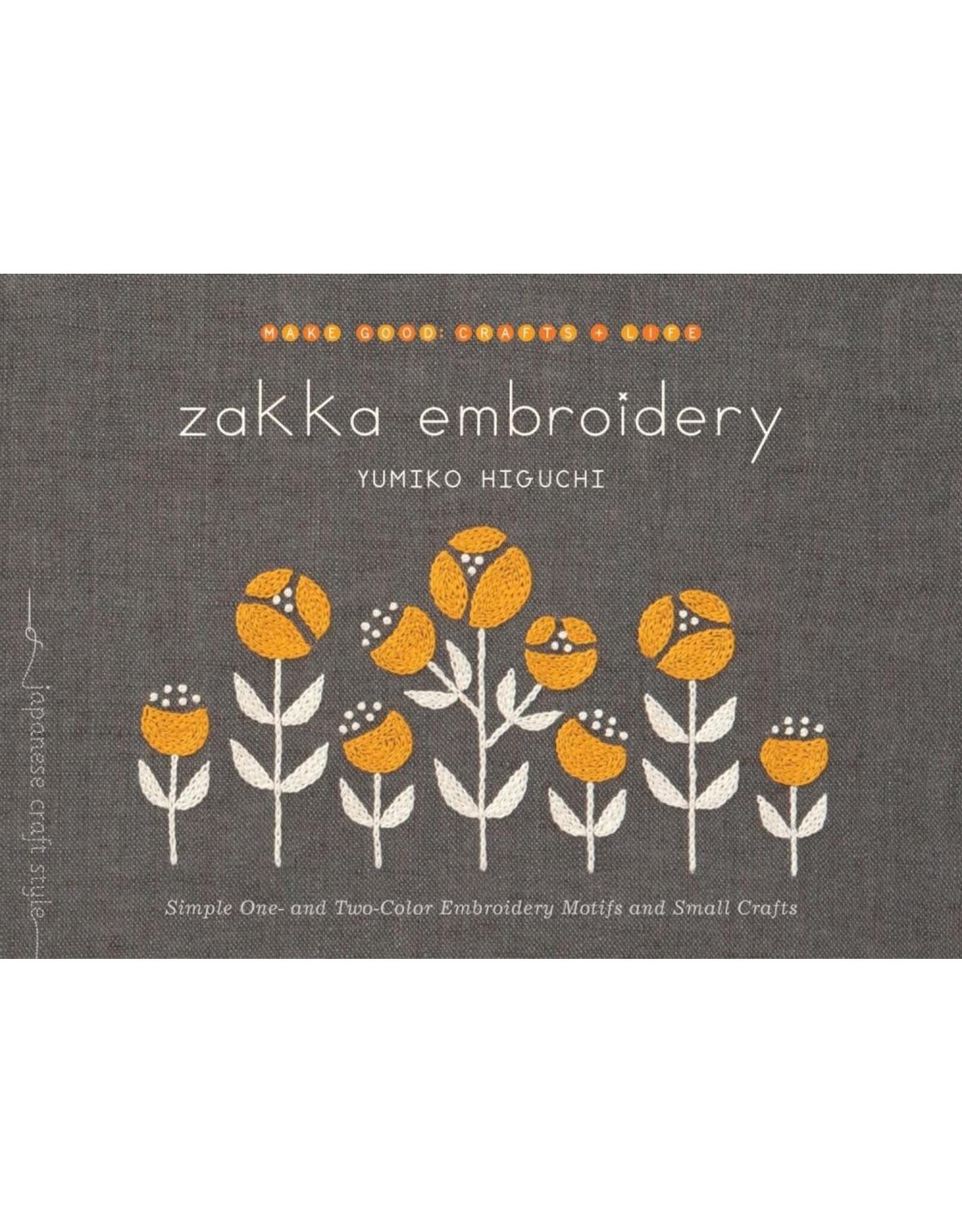 Yumiko Higuchi Zakka Embroidery