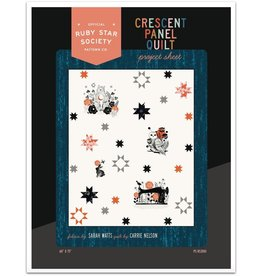 Ruby Star Society for Moda Crescent Panel Quilt Pattern