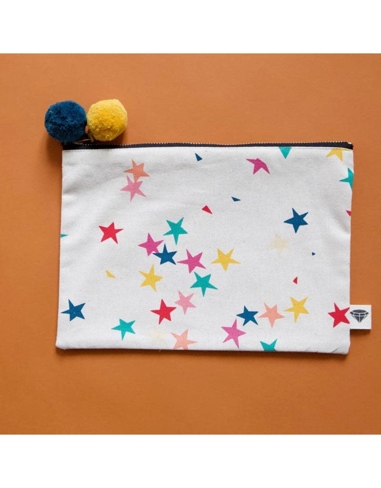 Moda Starfetti Pouch by Rashida Coleman-Hale for Ruby Star Society