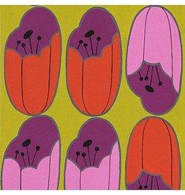Alexander Henry Fabrics The Ghastlies, A Ghastlie Bulb in Chartreuse, Fabric Half-Yards 8792B