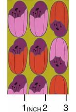 Alexander Henry Fabrics ON SALE-The Ghastlies, A Ghastlie Bulb in Chartreuse, Fabric FULL-Yards